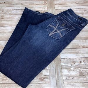 Kut from the Kloth Natalie High Rose Boot Jeans 8